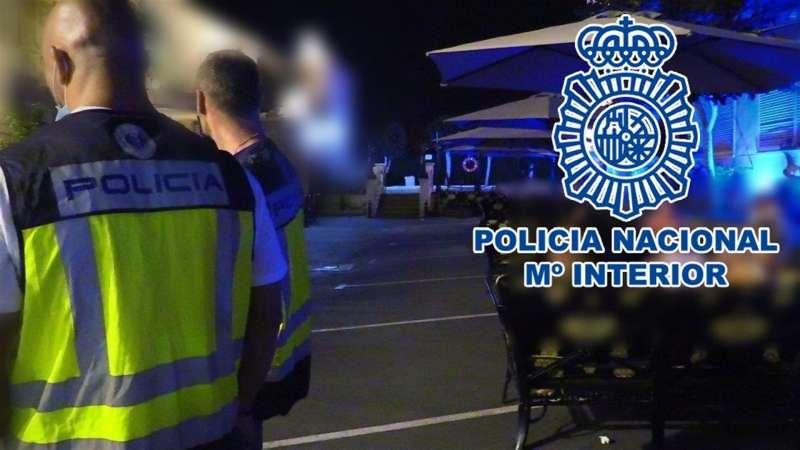 Imagen facilitada por la Policía Nacional.