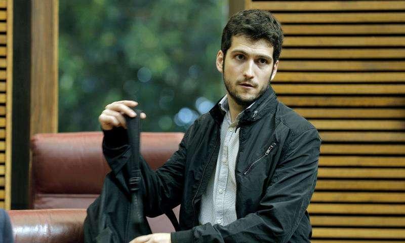 El secretario general de Podem en la Comunitat Valenciana, Antonio Estañ. EFE/Archivo