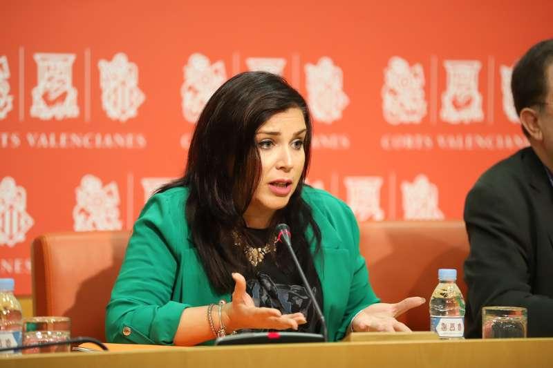 La síndica de Ciudadanos (Cs) en Les Corts valencianas, Mari Carmen Sánchez
