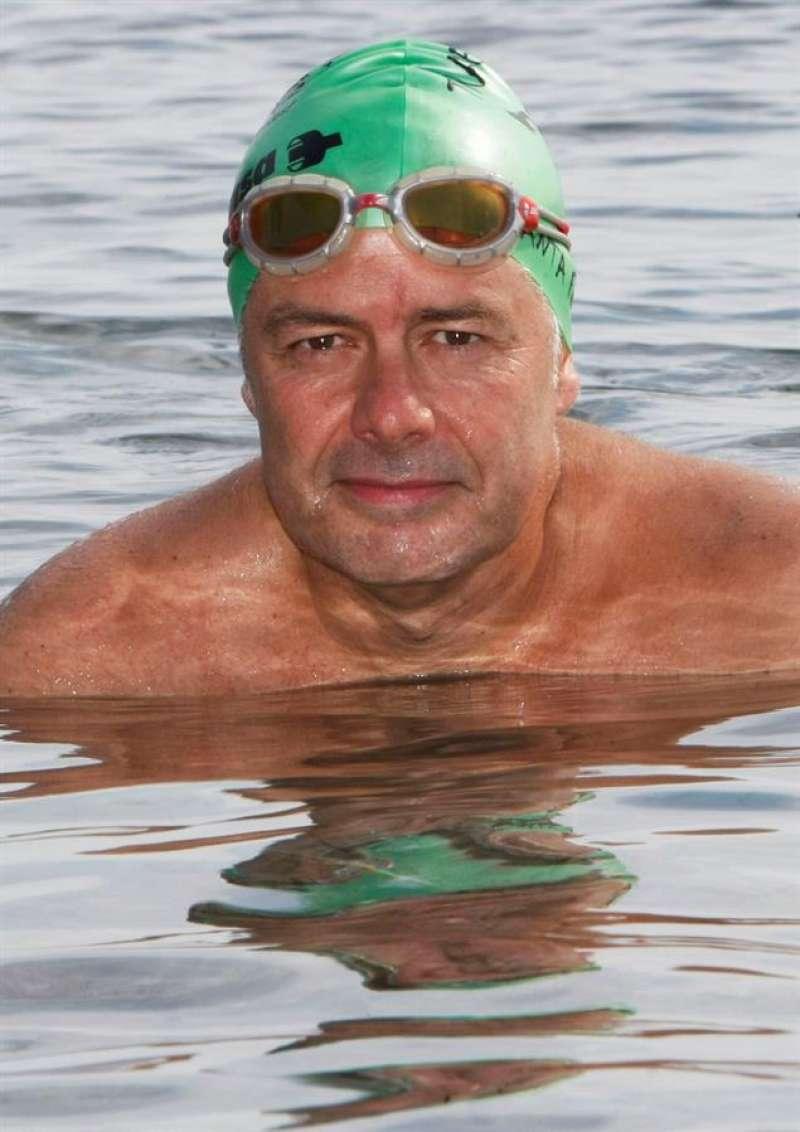 El nadador de aguas abiertas alicantino Jorge Crivillés. EFE/MORELL/Archivo