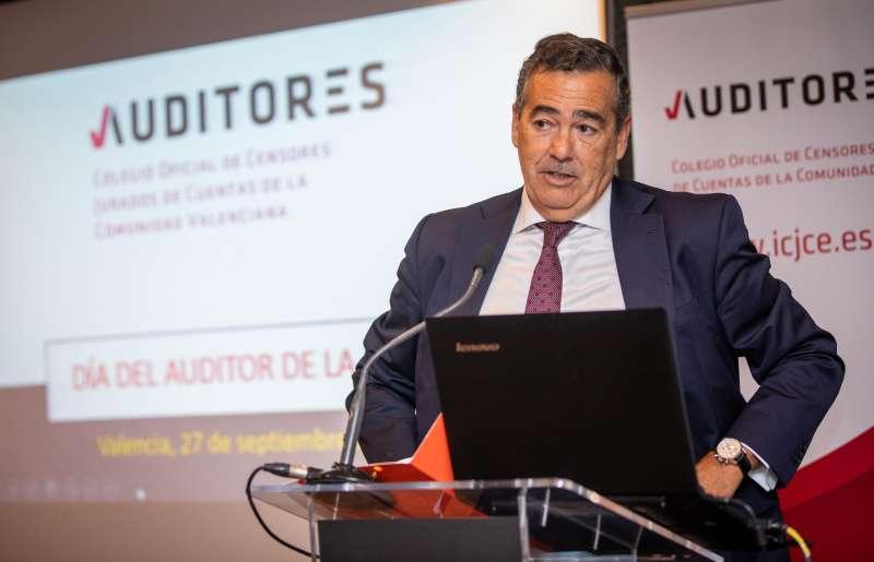 Rafael Nava, presidente del Colegio Auditores Comunidad Valenciana. EPDA