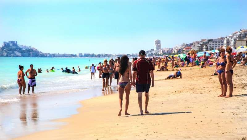 Playa de Peñíscola. AYUNTAMIENTO DE PEÑÍSCOLA