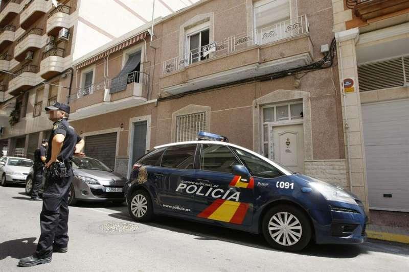 La Policía Nacional en Sagunto. EFE