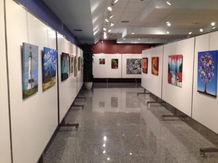 Una de las exposiciones realizadas. FOTO: EPDA