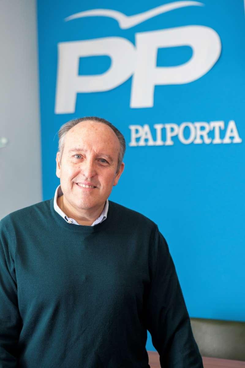 Vicente Ibor, portavoz y candidato a la alcaldía por el PP a Paiporta