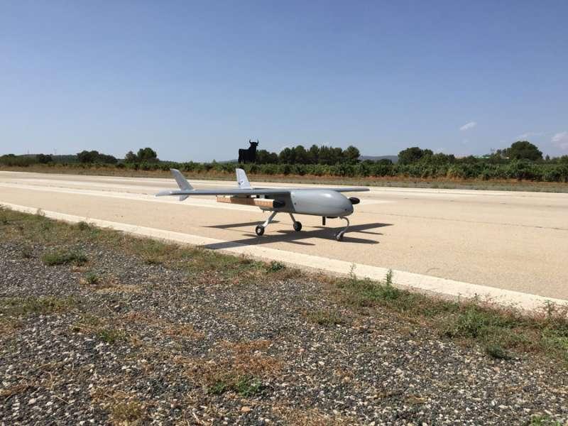 El avión inventado. FOTO EPDA