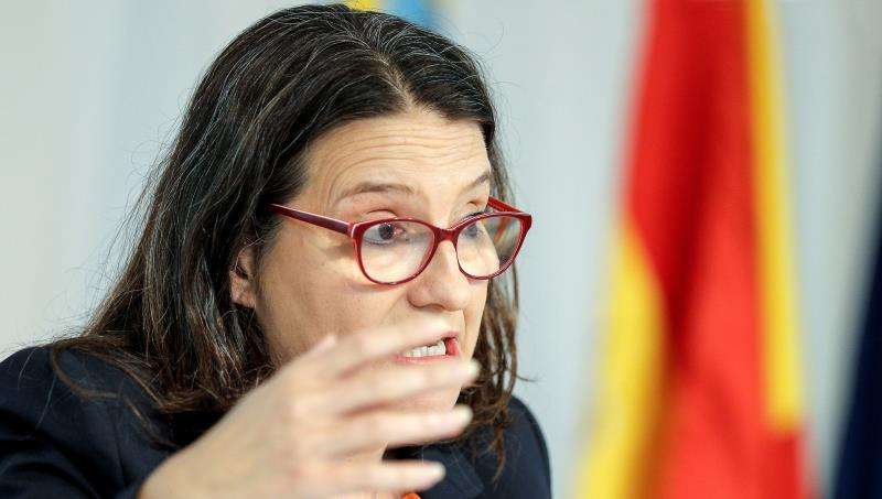 La vicepresidenta del Consell y coportavoz de Compromís, Mónica Oltra. EFE/ARhivo