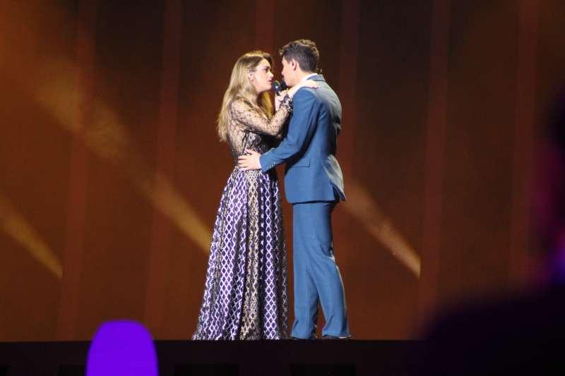 Amaia y Alfred en Eurovisión. EPDA