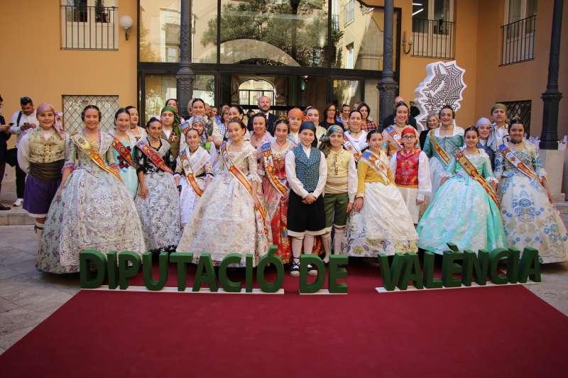 Comissions falleres a la Diputació de València
