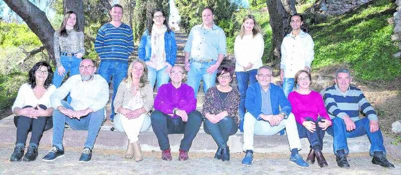 Candidats del PSPV de Benifairó de les Valls. EPDA