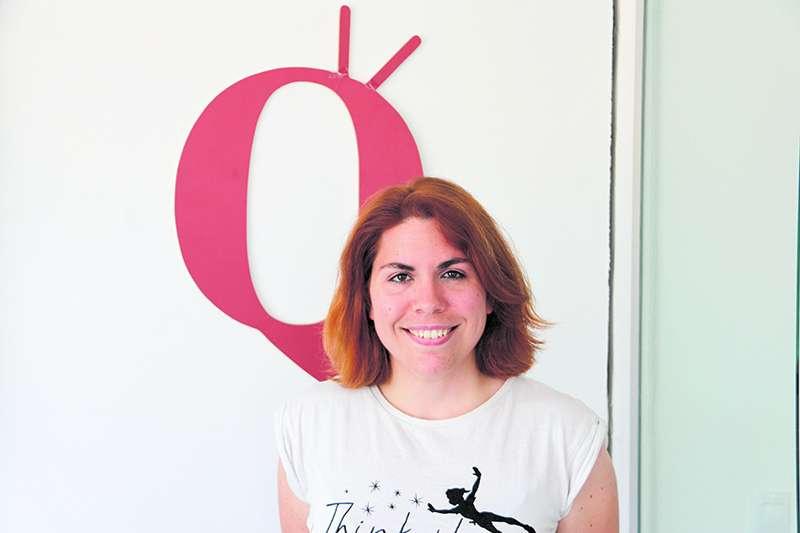 La escritora Andrea Muñoz. MARÍA VENTURA