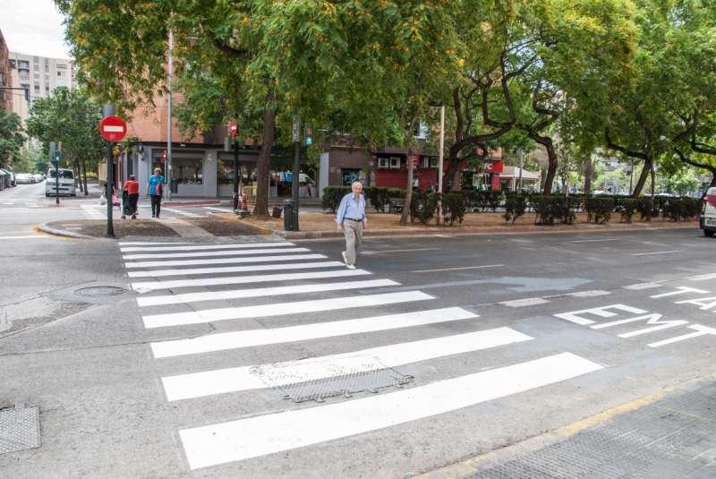 Mobilitat Sostenible millora el desplaçament per als vianants entre els barris de Sant Josep i Ciutat Jardí