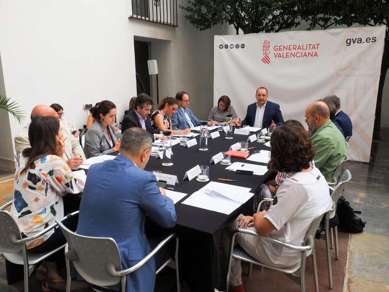 Reunión de la Generalitat para su participación en la Cumbre del Clima en Madrid. -EPDA