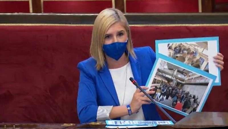 Salomé Pradas senadora por el PP