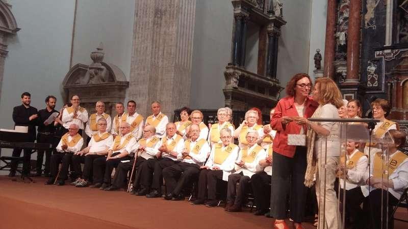 Concierto de Les Veus de la Memòria en San Miguel de los Reyes