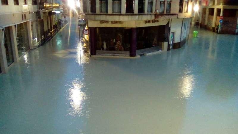Panorama de las calles del centro de Orihuela