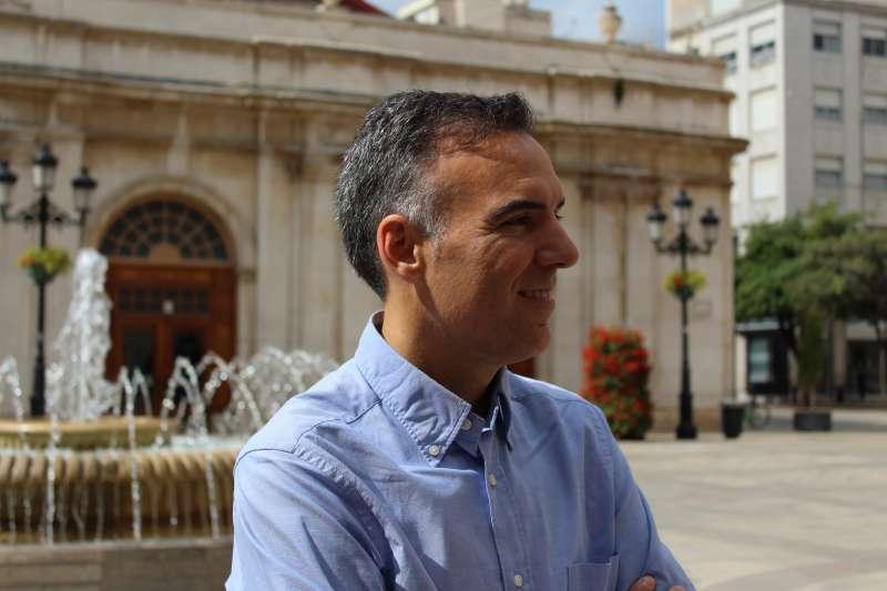 El portavoz de Ciudadanos (Cs) en Castellón, Alejandro Marín-Buck. -EPDA