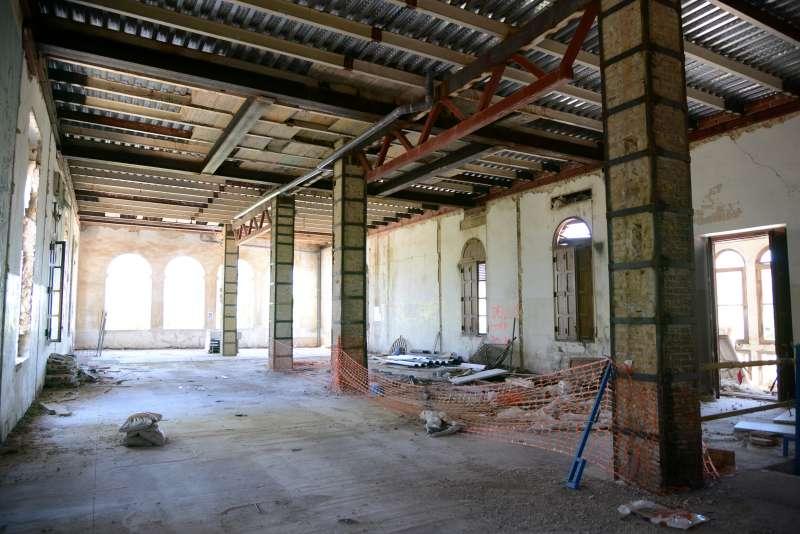 Interior de Vil·la Amparo. EPDA