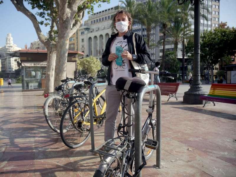 Aparcamientos de bicicletas. EPDA
