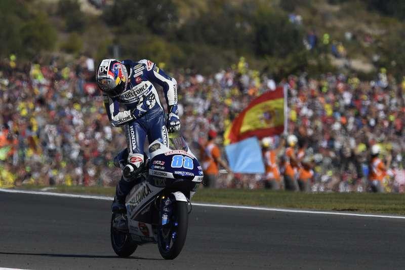 Jorge Martin gana el Gran Premio 2017 en Moto2.