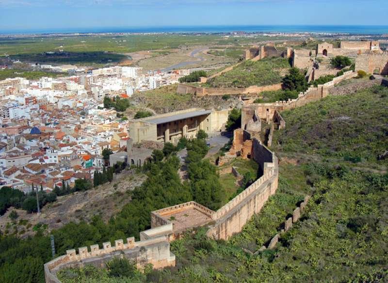 Imagen del patrimonio de Sagunto. EPDA