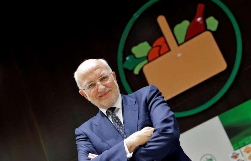El presidente de Mercadona, Juan Roig. EFE/Manuel Bruque/Archivo