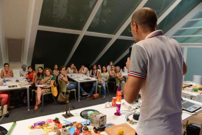 Imagen de la primera jornada del curso