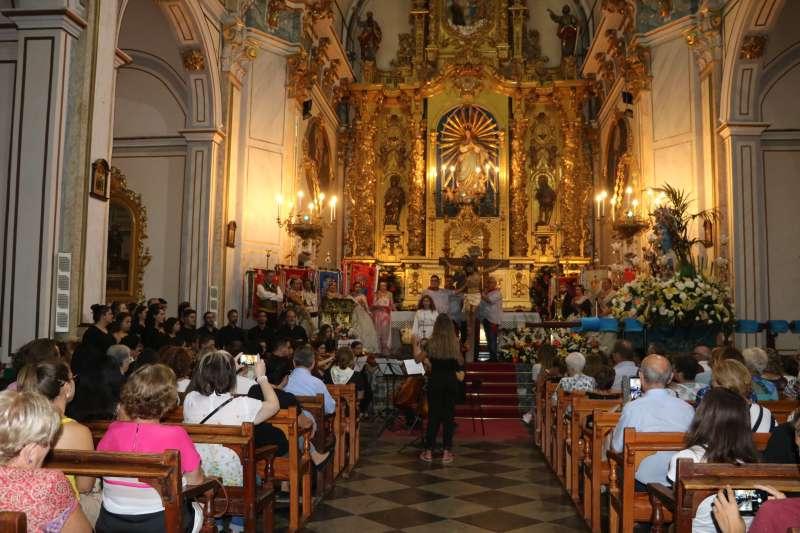 Eucaristía en honor al Santísimo Crist dels Afligits. EPDA