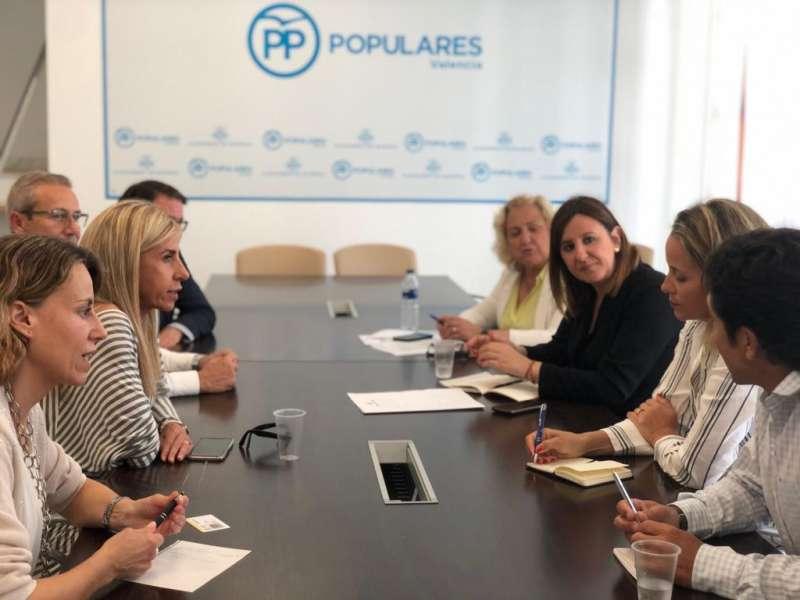 Foto de la reunión de concejales