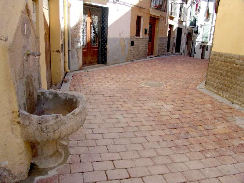 Calle del casco antiguo de Segorbe