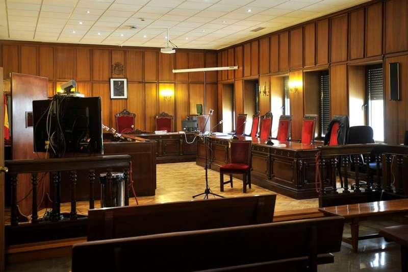 Vista de un sala de una Audiencia Provincial. EFE