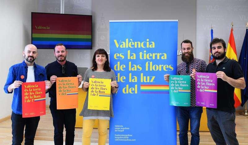 Presentación de la campaña del Día del Orgullo 2019, en una imagen difundida por el Ayuntamiento.