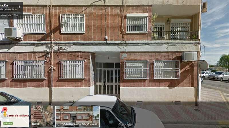 Edificio donde se ubica la vivienda de Silla que será desalojada. EPDA