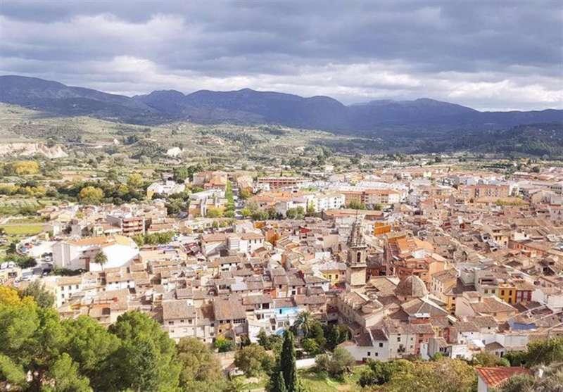 Imagen de Cocentaina compartida en redes por el Ayuntamiento.