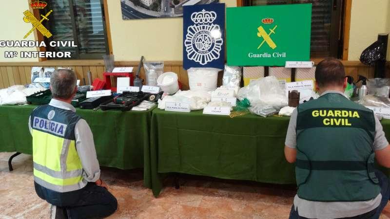 Imagen archivo mandada por la Guardia Civil. -EPDA