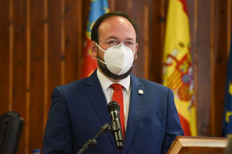Xavier Jorge, alcalde de Vilamarxant. / EPDA