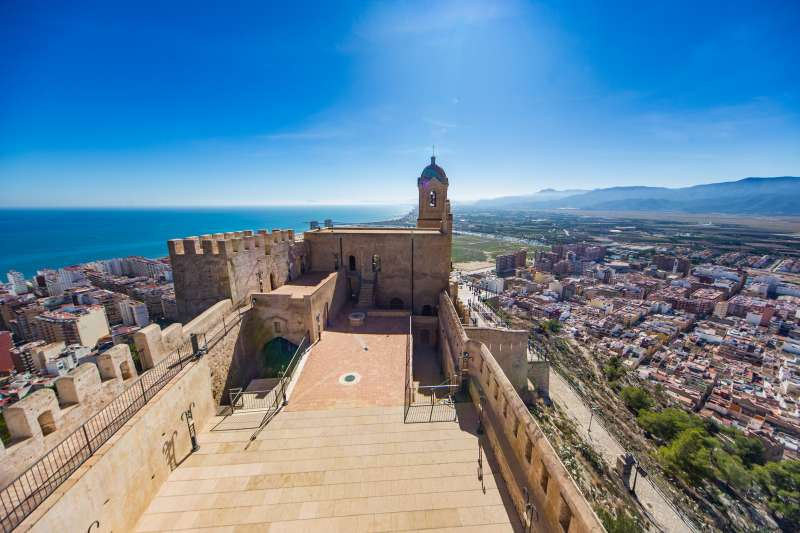 Castell de Cullera./EPDA