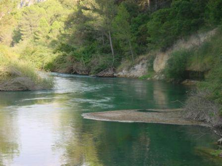 Vista del Río Júcar. Foto: EPDA.