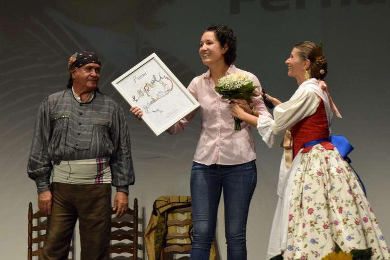Reconeixement a Beatriz Fernández.