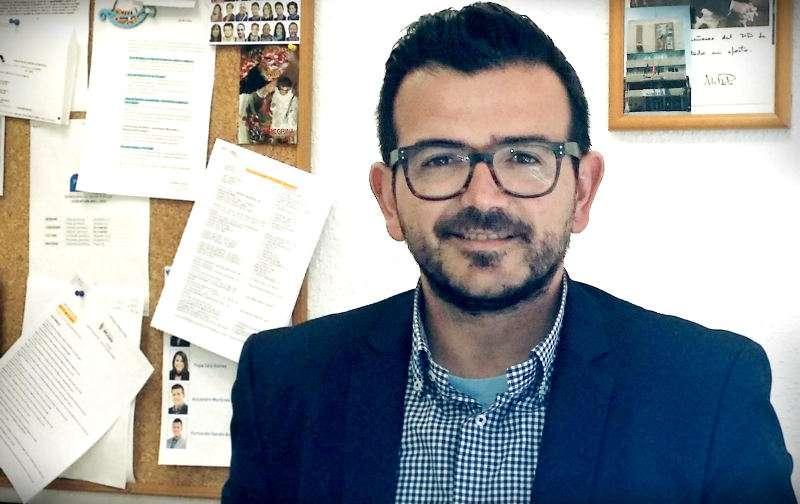 El portavoz del PP de Mislata, Jaime L. Bronchud. EPDA
