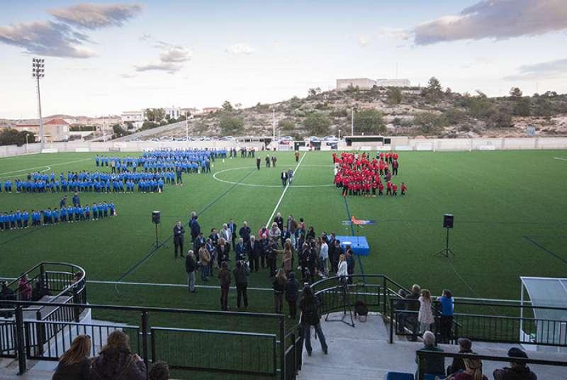 Campo de fútbol de Riba-Roja. //EPDA