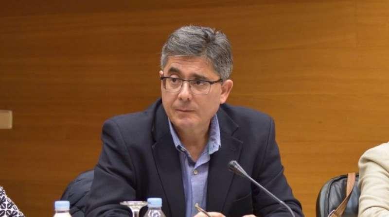 El portavoz del PSPV en la comisión, Alfred Boix