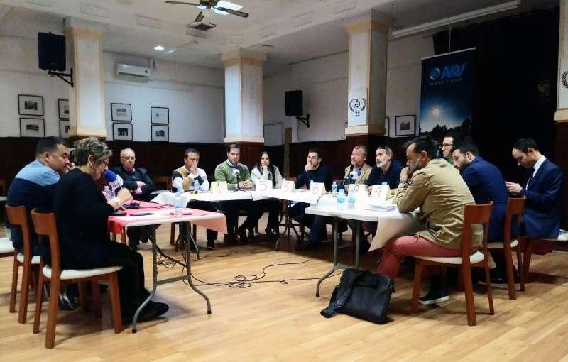 Debate político entre los candidatos de Sagunt. EPDA
