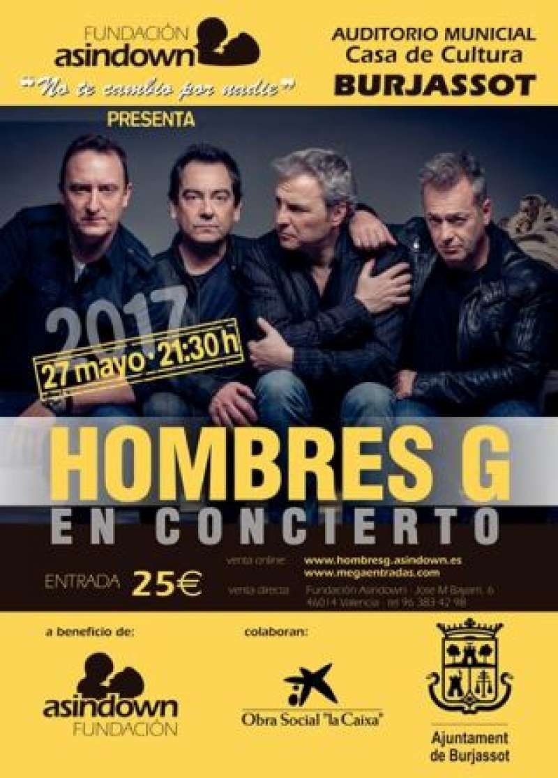 Cartel del concierto. EPDA