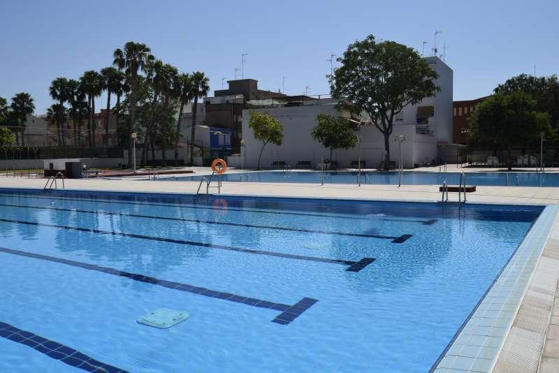 Una de las piscinas de Burjassot. EPDA