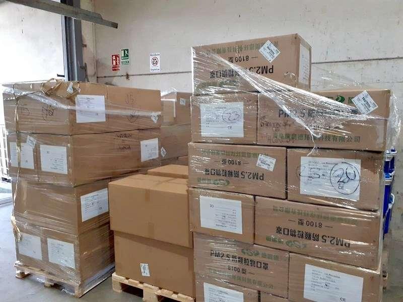 Una imagen del material distribuido, facilitada por la Diputación. EFE