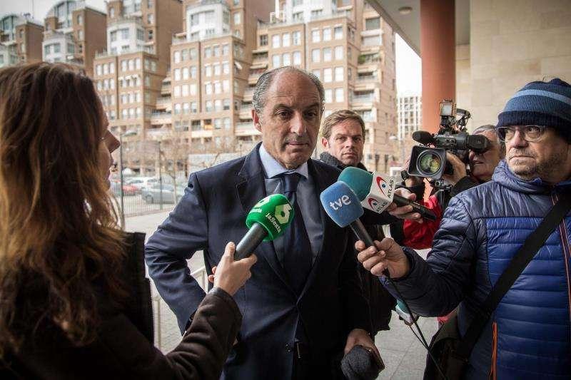 El expresidente de la Generalitat, Francisco Camps, en una imagen de archivo. EFE