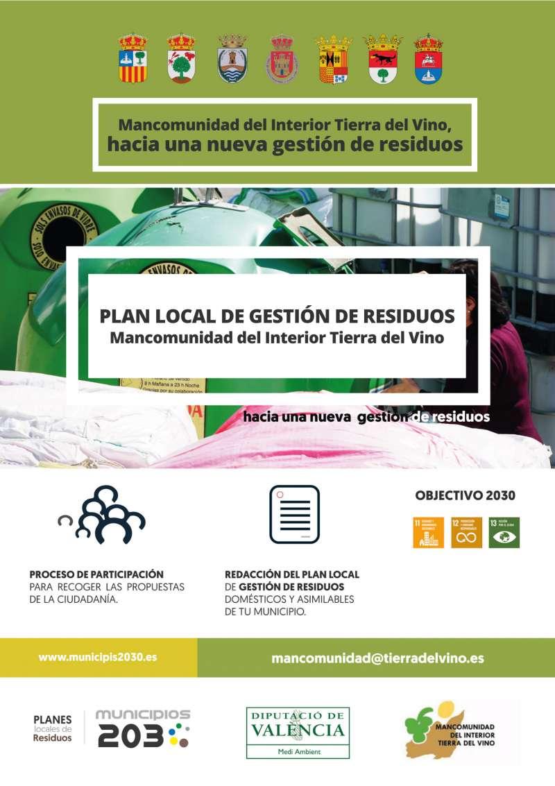 Cartel campaña Plan Local de Gestión de Residuos