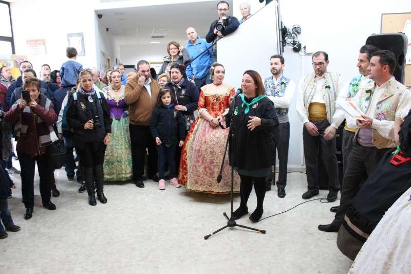 La regidora de Festes, Tatina Prades