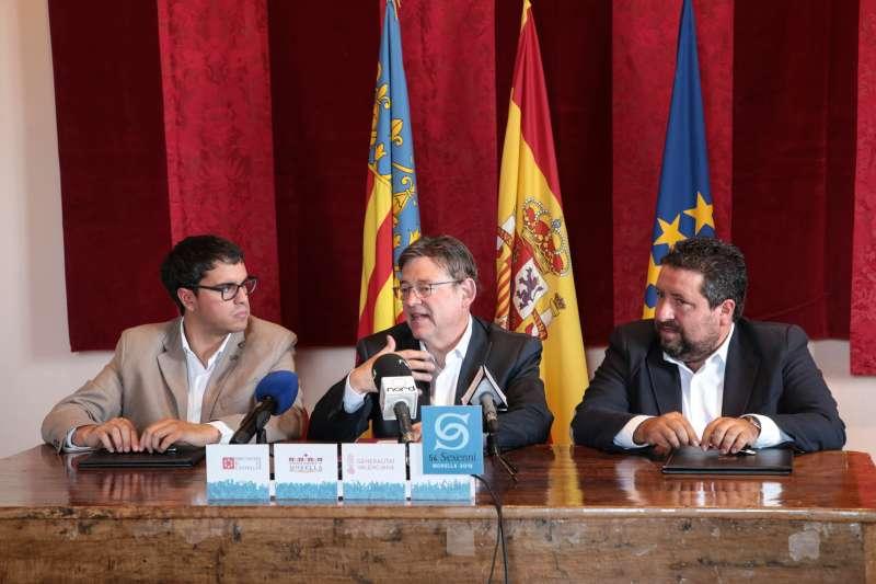 Los presidentes Puis y Moliner han estado hoy en Morella